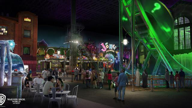 Warner terá novo parque temático com as cidades de Metrópolis e Gotham