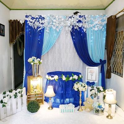 dekorasi aqiqah anak perempuan modern terbaru
