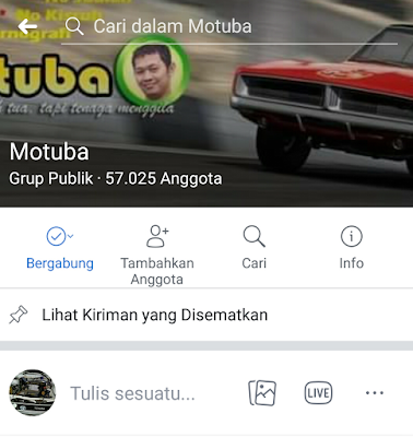 Halaman Group Motuba (Mobil Motor Tua Bangka)