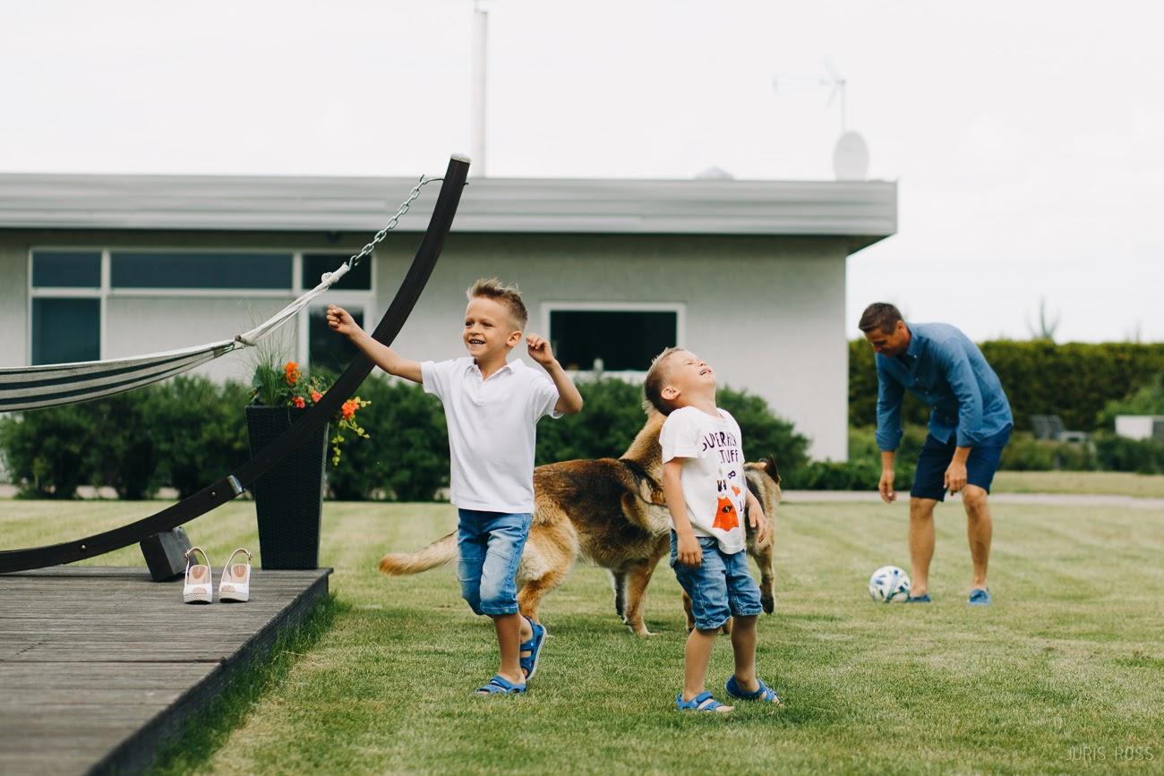 bērnu prieks un attiecības