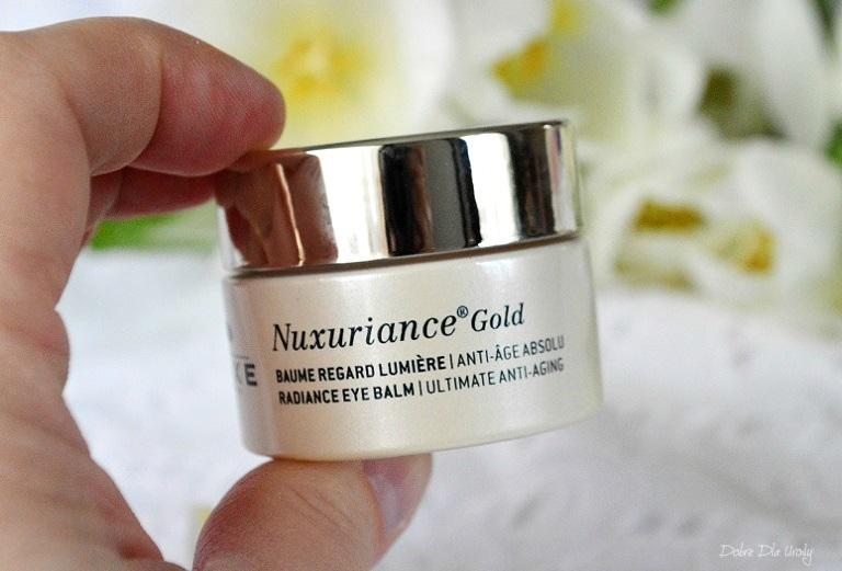 Nuxe Rozświetlający Balsam pod oczy Nuxuriance Gold recenzja