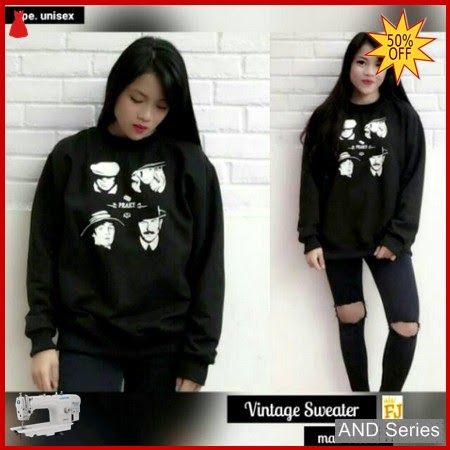 AND242 Sweater Wanita Vintage Murah BMGShop