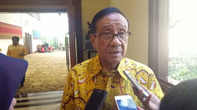 Akbar Tanjung: Waspada, Nasdem Punya Niat Jahat Ke Golkar