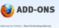 componenti lenti in Firefox da disabilitare