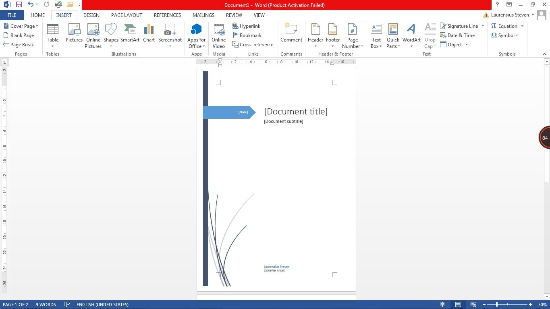 cara membuat cover page di microsoft word tech ina nah itu tadi dia penjelasan mengenai cara membuat cover page pada microsoft word bagaimana mudah bukan membuat cover page pada microsoft word