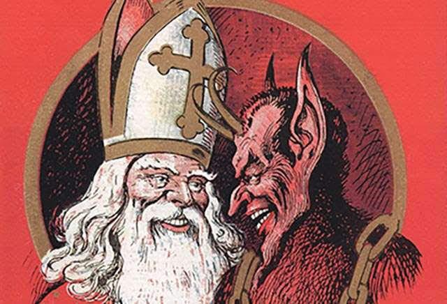 Papai Noel e Krampus