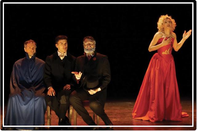 Le portrait de Dorian Gray :  scène où Sibyl interprète Juliette