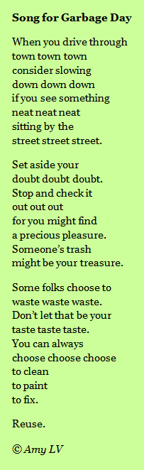 The Poem Farm: Song for Garbage Day - Embarrassed?