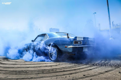 Fahed Abu Salah attempting world longest burnout record