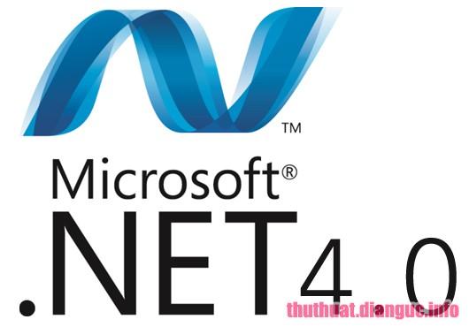 Download Microsoft .NET Framework 4.0 Hỗ trợ ứng dụng thực thi trên Windows