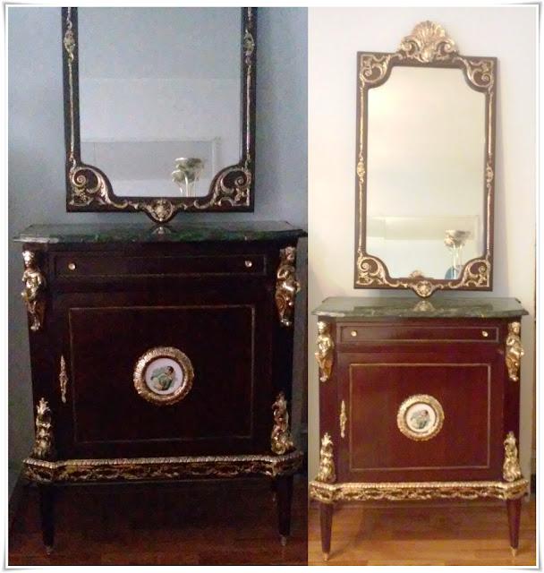 Cod 21, Scrin cu oglindă stil franţuzesc - Splendid!