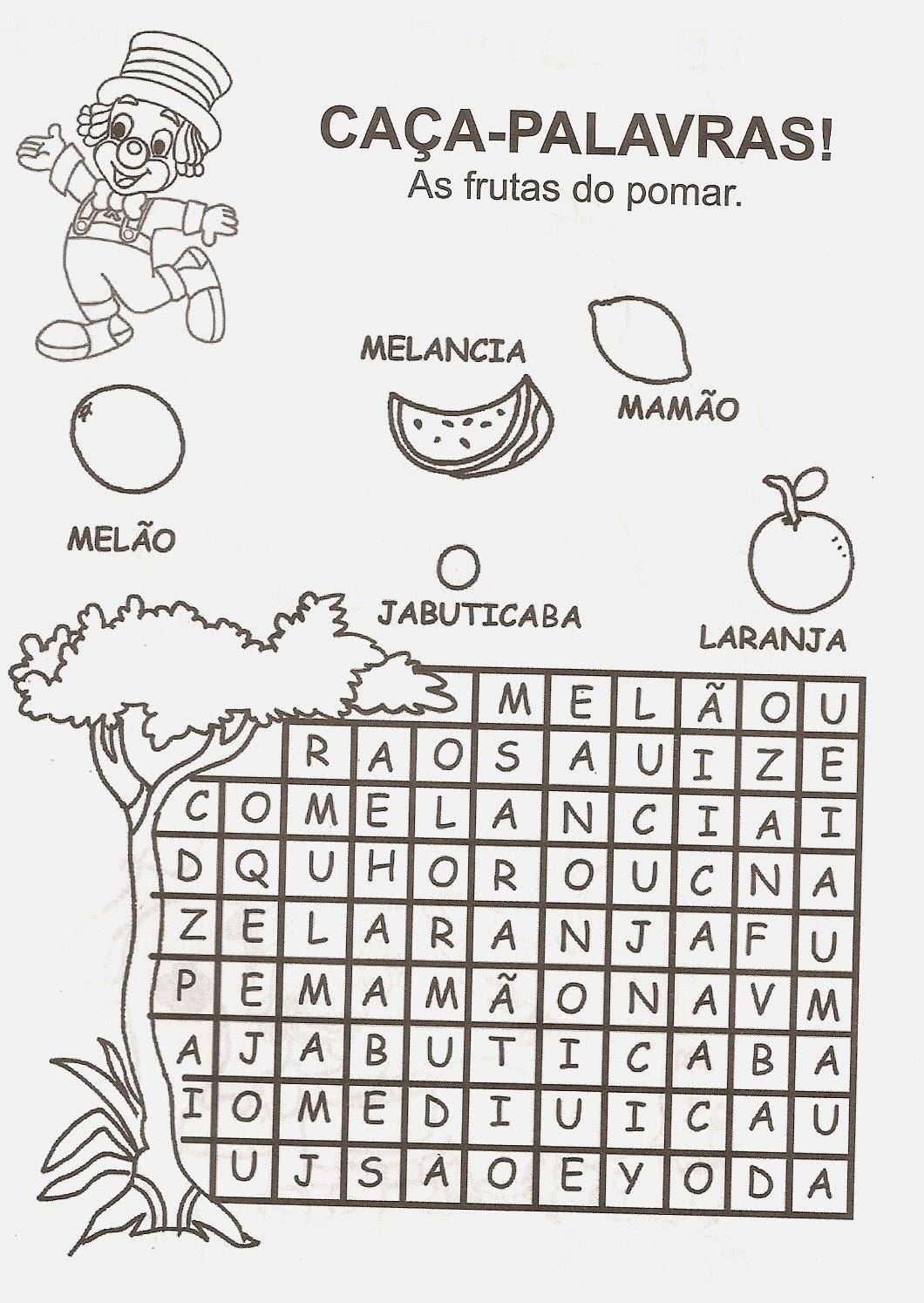atividades diversas para alfabetizar