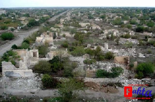kota Agdam Azerbaijan kota hantu yang tidak berpenghuni dan juga sangat angker