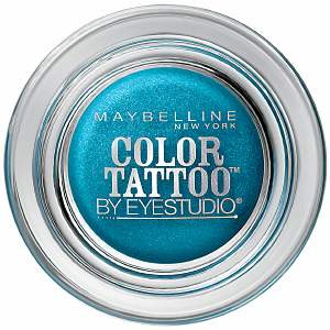 9bcf2e975a19b Trashy Saggy Pants  Maybelline Color Tattoo  Tenacious Teal  REVIEW
