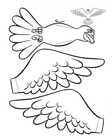 Desenho Pomba Do Espirito Santo