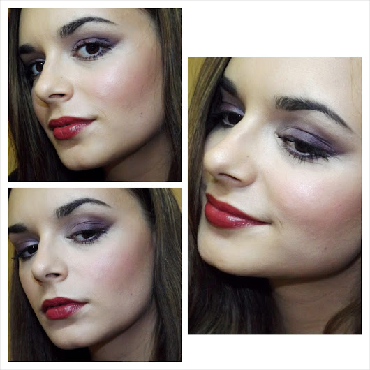 Makeup Look : Red, Red, Wine...