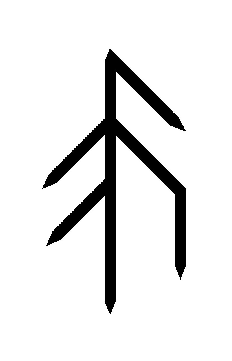 Real rune magick the esoteric praxis of bind runes part 2 a well made bind rune biocorpaavc Image collections