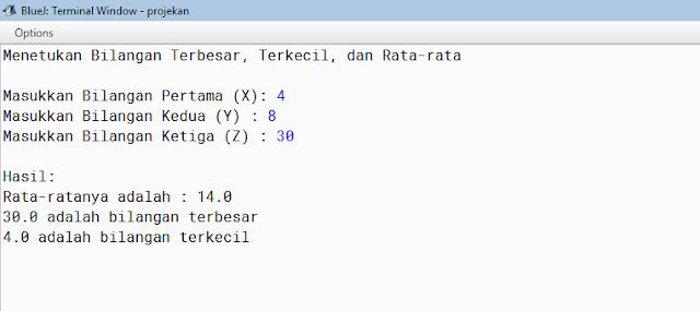 Contoh Contoh Soal Pemrograman Java dan Codingnya