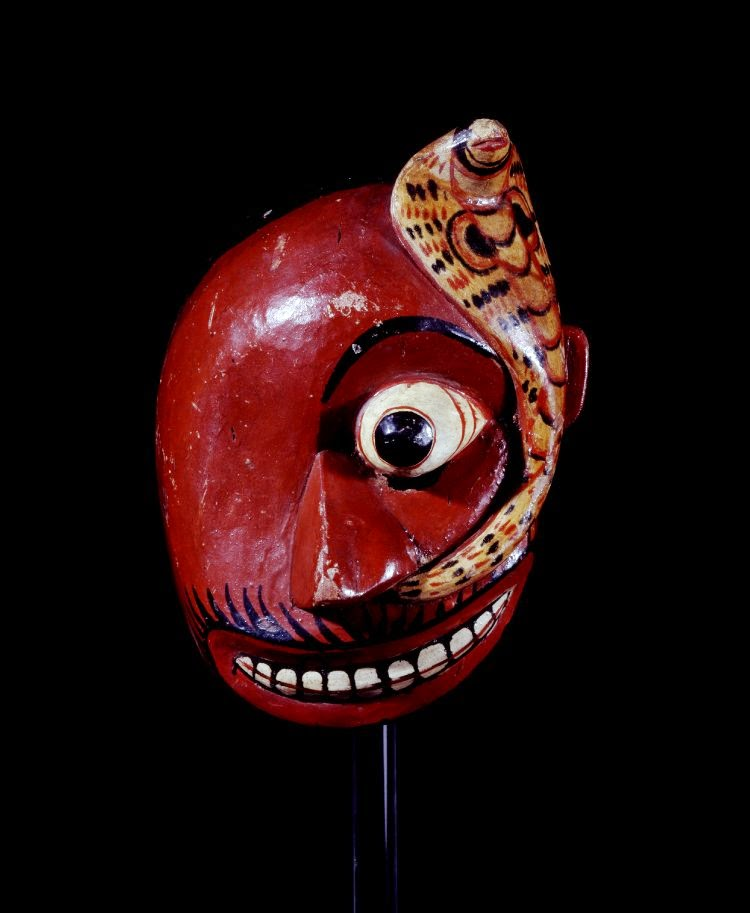 Sri Lanka traditional sanni mask