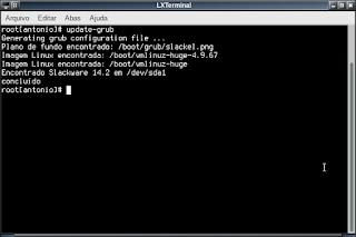 Slackel usando os repos do Slackware current
