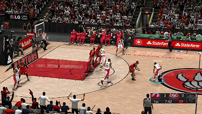 NBA 2K13 Air Canada Centre Court Patch NBA2K
