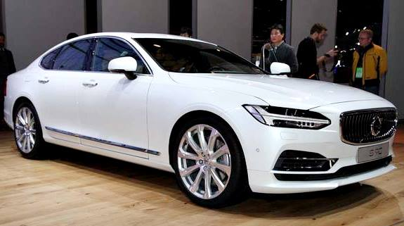 Volvo S90 T5 Momentum 2017 frontal blanco