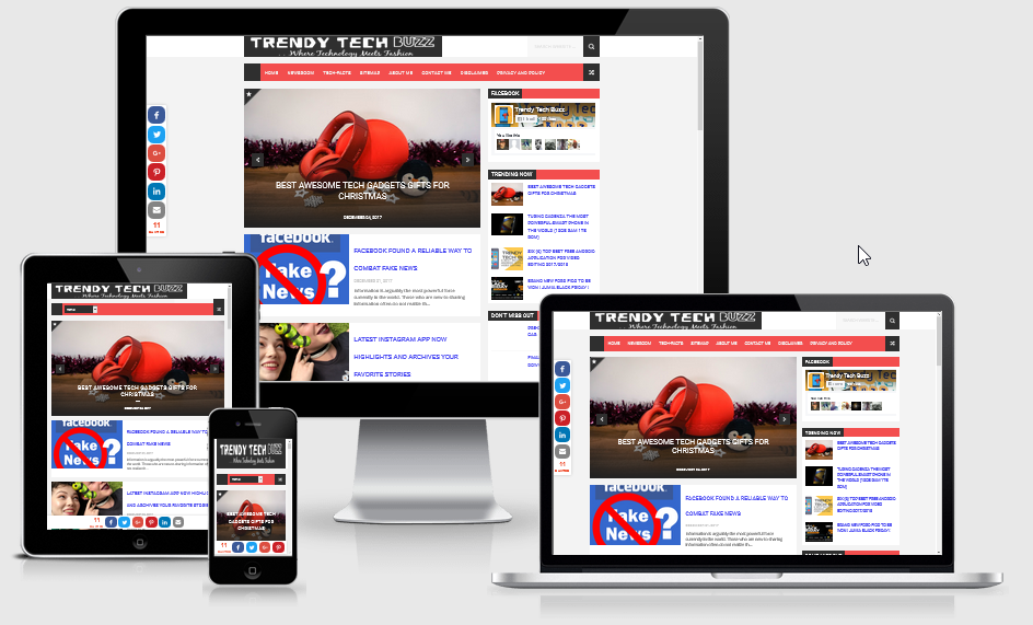 Trendy Tech Buzz Screens