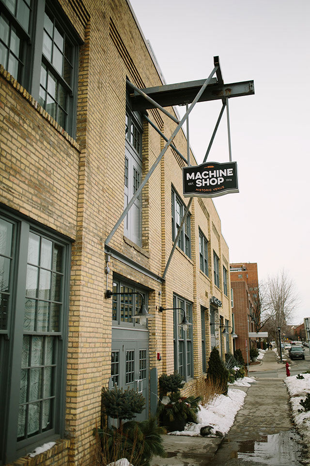The site of our wedding! The Machine Shop in Minneapolis, MN | Photography by Jessica Holleque