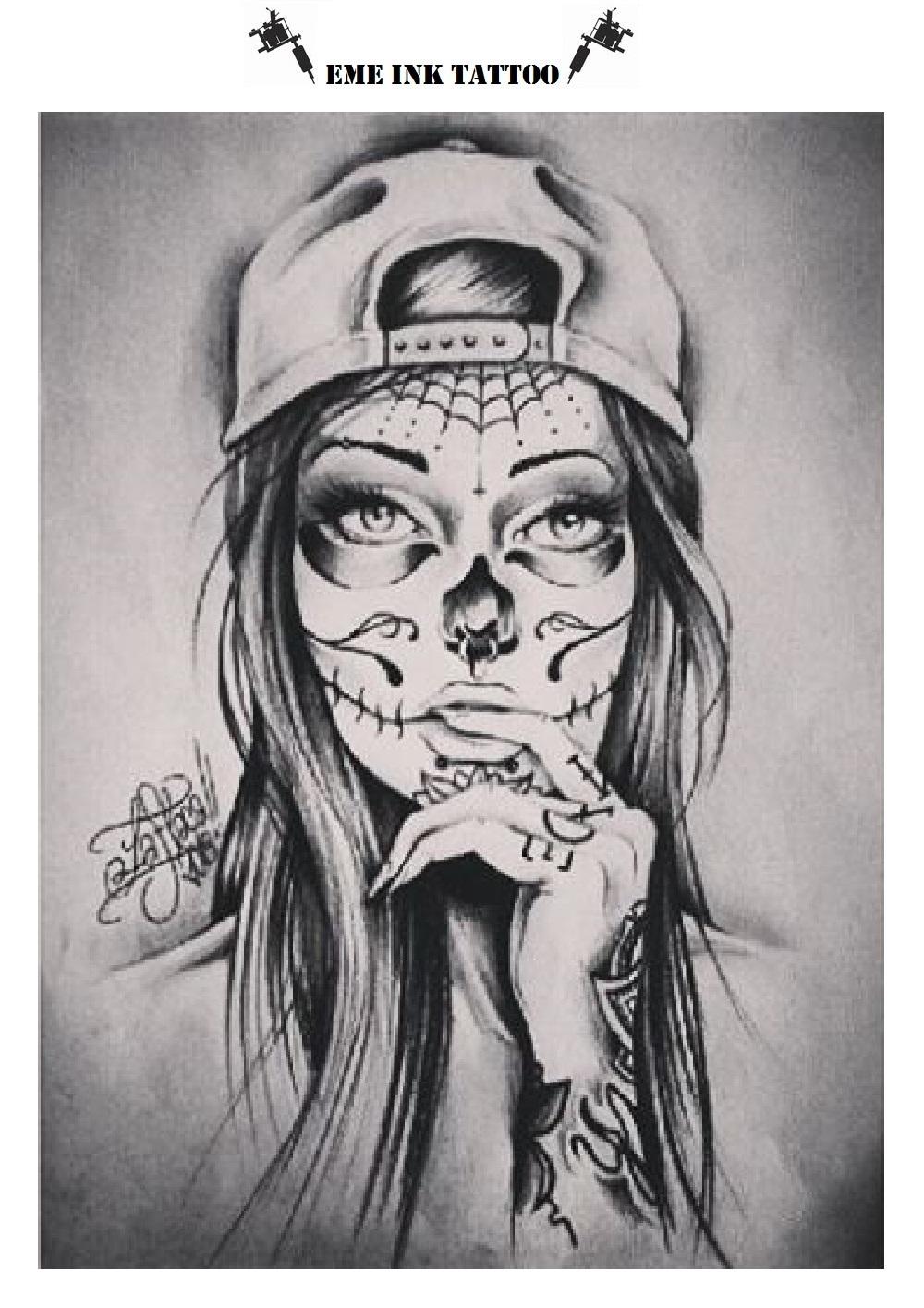 Significado Das Tatuagens De Catrina