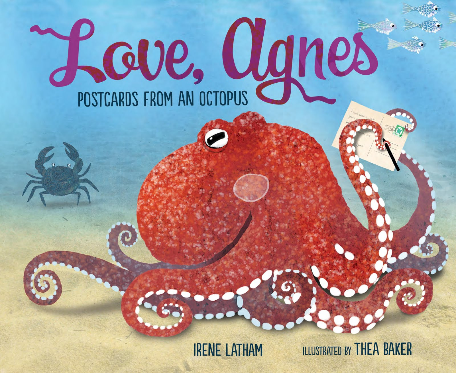 "LOVE, AGNES says, ""Happy Octopus Month!"""
