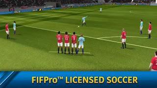 pada kesempatan kali ini aku akan membagikan sebuah aplikasi android berupa game android Dream League Soccer 2019 v6.12 Mod Apk (Unlimited Money)
