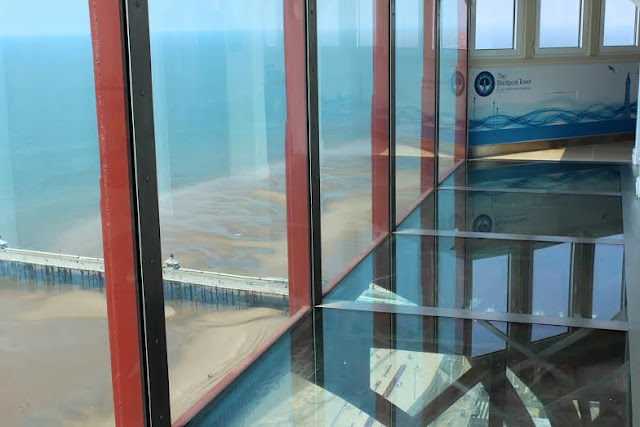 Tall Tales at the Top of the Tower in May Half Term - view from the Blackpool Eye