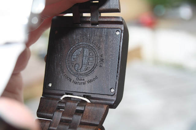 Jord 94A Series Wooden Watch