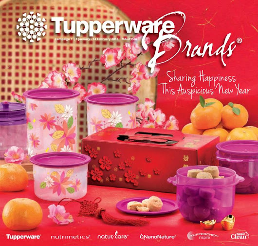 Tupperware Catalog 01 January 2016 - February 2016 | Tupperware Kakakshop | Tupperware Malaysia | Tupperware Catalog | Tupperware Product