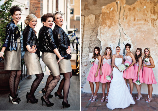 Bridesmaids Style Sequins And Lace Belle The Magazine