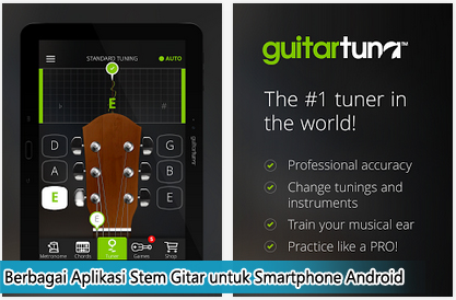 Berbagai Aplikasi Stem Gitar untuk Smartphone Android