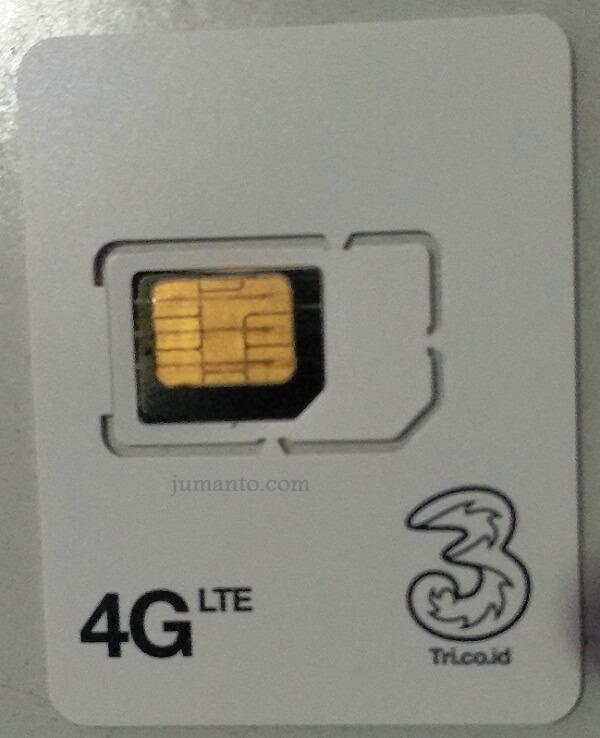 GAMPANG....!!! CARA UPGRADE KARTU THREE 3G KE 4G MANDIRI