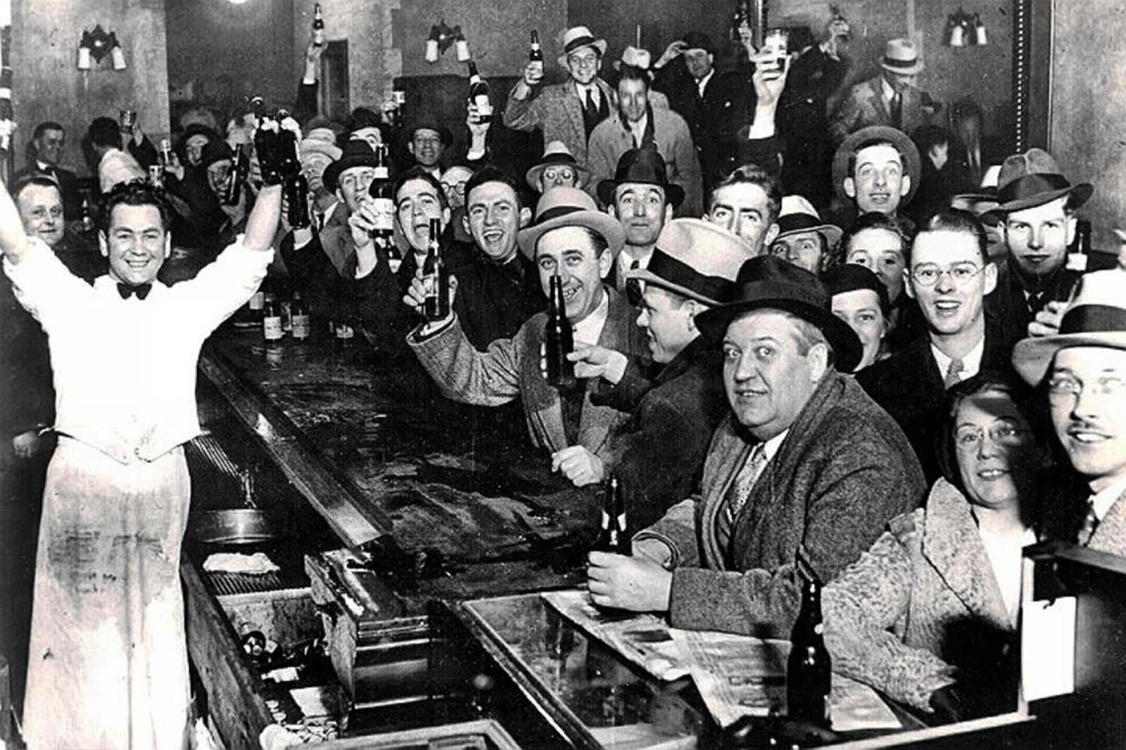 The night they ended Prohibition, December 5th, 1933.