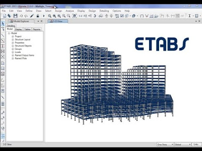 Dowload giáo trình tài liệu ETABS full miễn phí