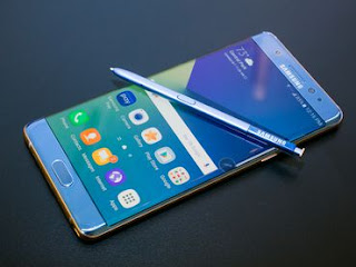 Samsung Galaxy Note 7 front screen