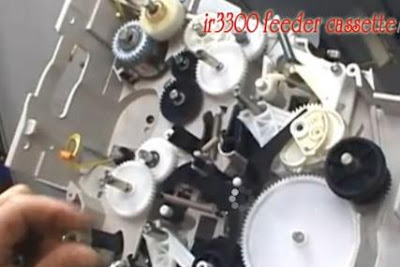 Berikut Cara Mengganti Gear Lifter IR 3300 dengan Benar