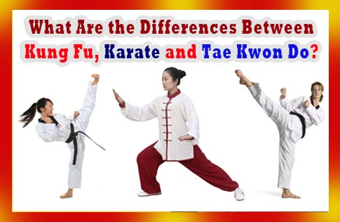 What Are the Differences Between Kung Fu, Karate and Tae Kwon Do?