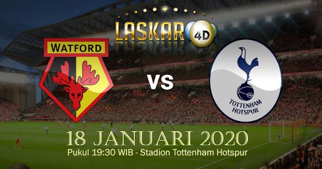 Prediksi Pertandingan Watford Vs Tottenham Hotspur