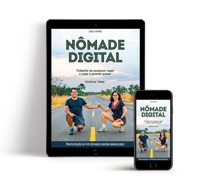 capa do livro Nômade Digital - trabalhe de qualquer lugar e viaje o quanto quiser