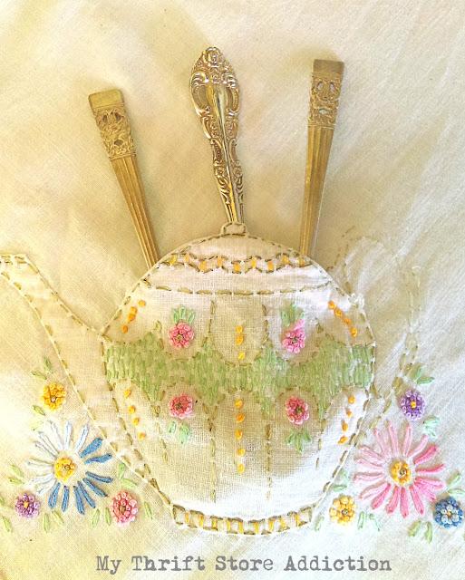 whimsical teapot vignette