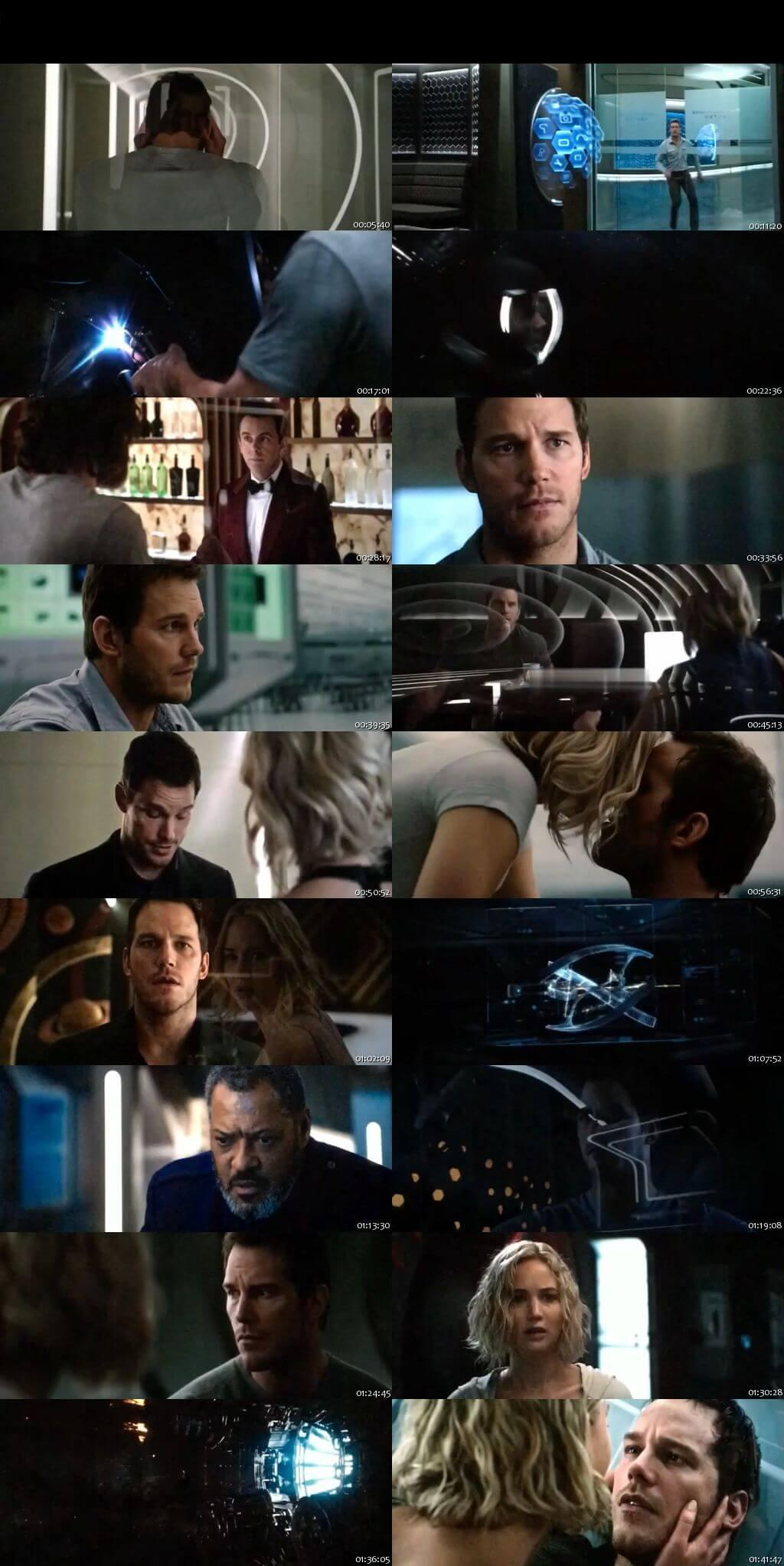 Screenshot Of Watch Online Passengers (2016) Full Movie Download Free HDCam HQ