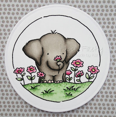 LOTV elephant trio stamps
