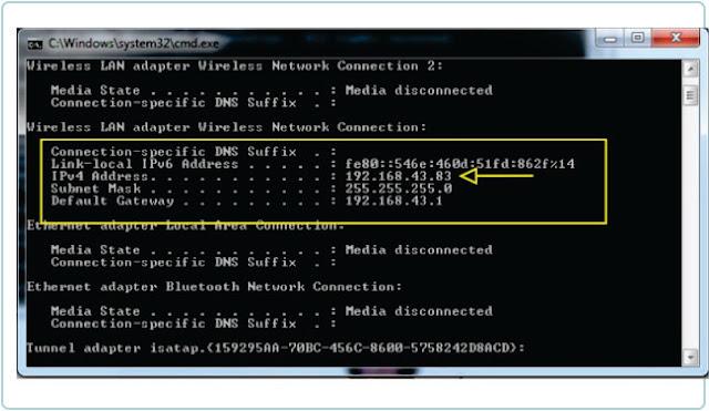 2 Cara Melihat IP Addres Laptop Dan Komputer Tanpa Ribet