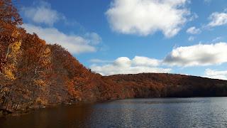 lac des Bouleaux, Parc du Mont-Saint-Bruno, couleurs d'automne