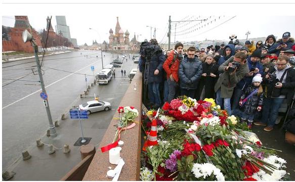 super popular 2d639 b1852 Russian opposition leaders see Kremlin links to Nemtsov slaying